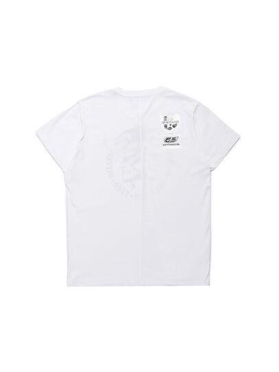 Diesel - D-MESO&MESO, Blanc - T-Shirts - Image 3