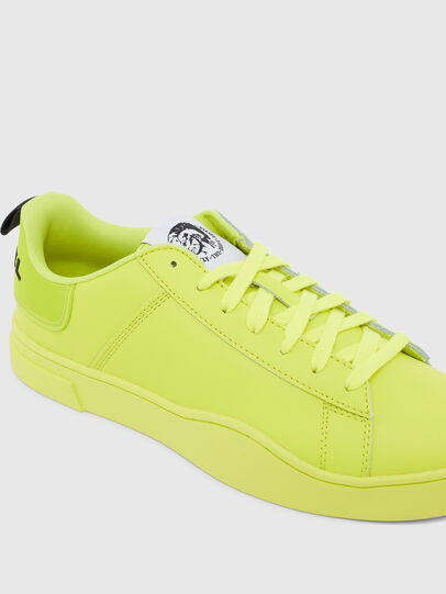 Diesel - S-CLEVER LOW LACE, Jaune - Baskets - Image 4
