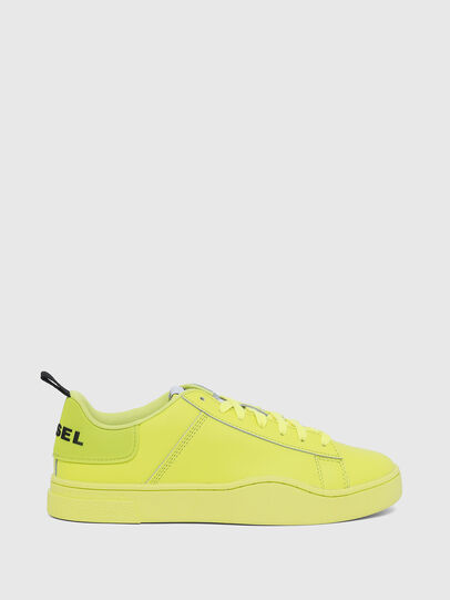 Diesel - S-CLEVER LOW LACE W, Jaune Fluo - Baskets - Image 1