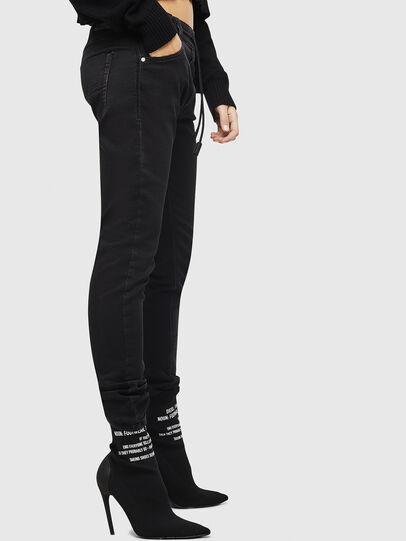 Diesel - Krailey JoggJeans 0687Z, Noir/Gris foncé - Jeans - Image 6