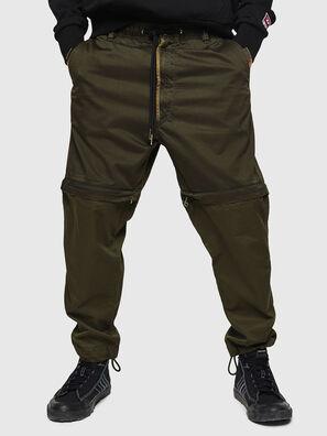 P-CASHORT, Vert Militaire - Pantalons