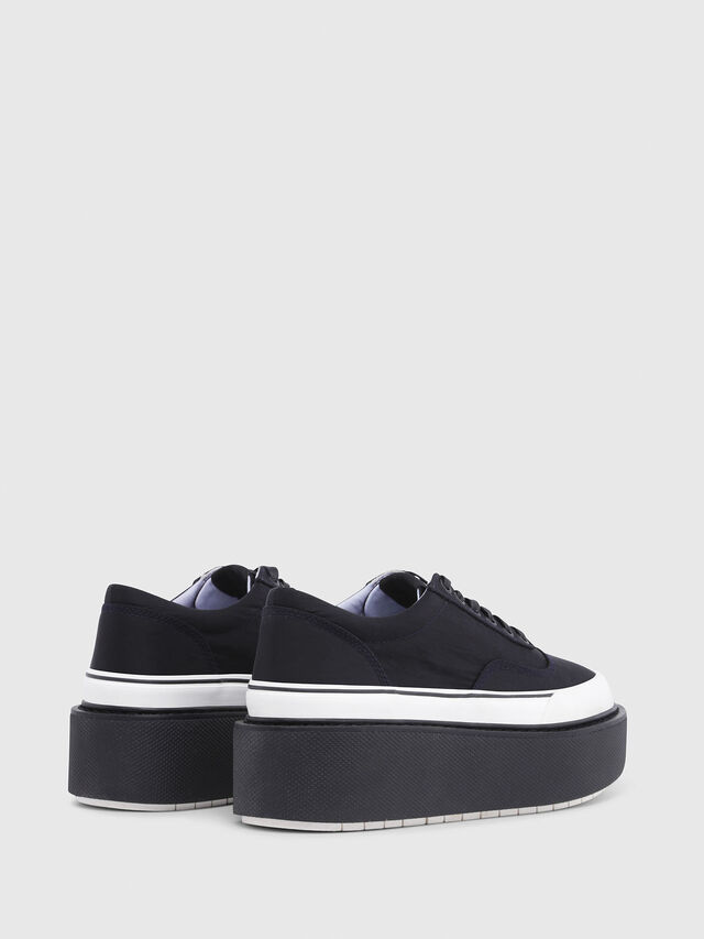 Diesel - H-SCIROCCO LOW, Noir - Baskets - Image 3