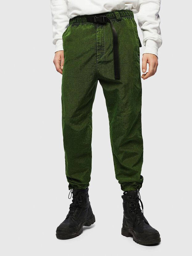 P-BERG, Vert - Pantalons