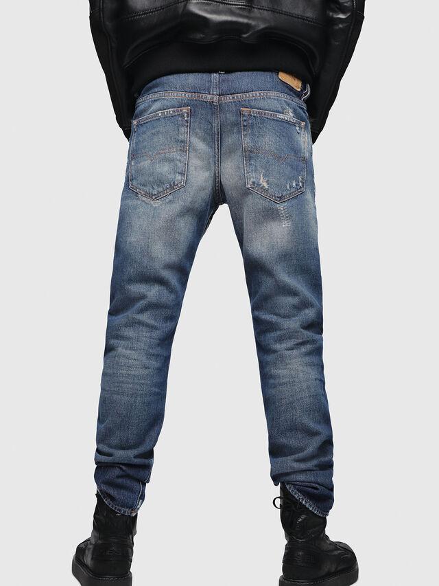 Diesel - Buster 088AQ, Bleu Foncé - Jeans - Image 2