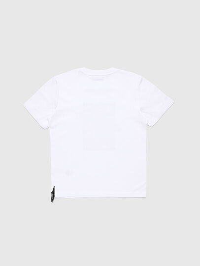 Diesel - TJUSTY7, Blanc - T-shirts et Hauts - Image 2