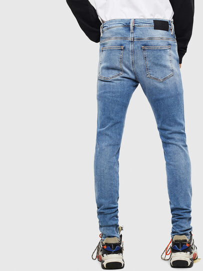 Diesel - D-Istort 009BG, Bleu moyen - Jeans - Image 2