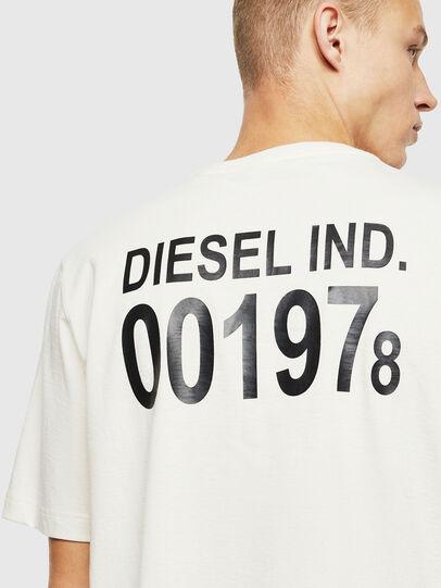 Diesel - T-JUST-VINT, Blanc - T-Shirts - Image 3