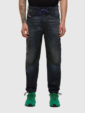 D-Skint JoggJeans 069PE, Bleu Foncé - Jeans