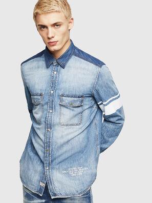 D-MILLER, Jean Bleu - Chemises en Denim