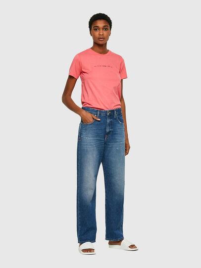 Diesel - T-SILY-COPY, Rose Poudré - T-Shirts - Image 4