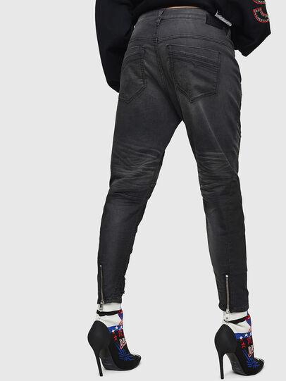 Diesel - Fayza JoggJeans 069GN, Noir/Gris foncé - Jeans - Image 2