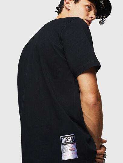 Diesel - T-JUST-B23, Noir - T-Shirts - Image 6