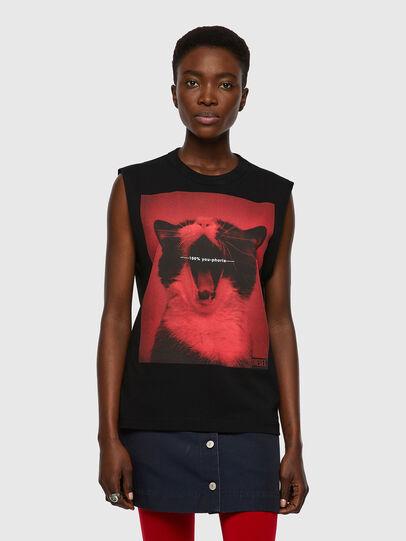 Diesel - T-PUNKYERN, Noir - T-Shirts - Image 1