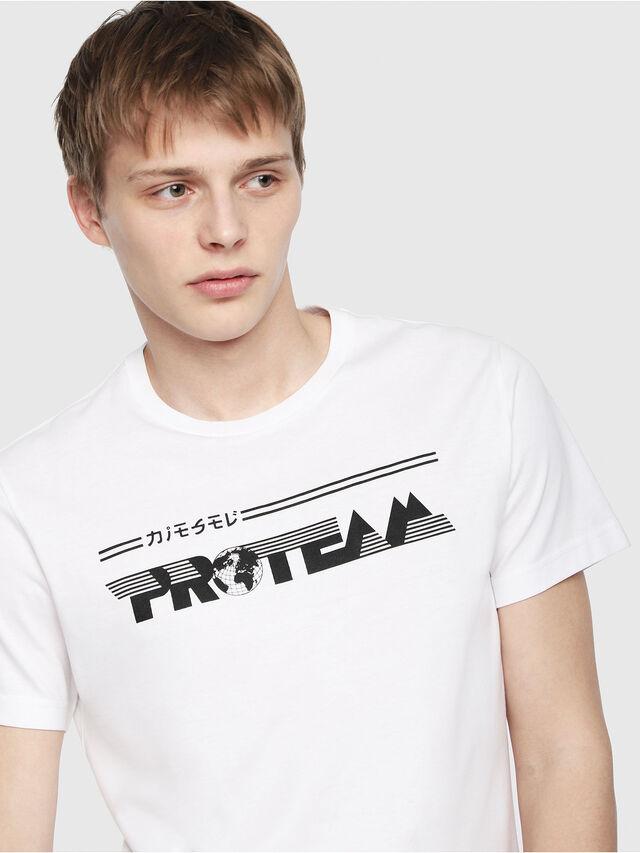 Diesel - T-DIEGO-YB, Blanc - T-Shirts - Image 3