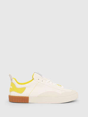 S-BULLY LC, Blanc/Jaune - Baskets