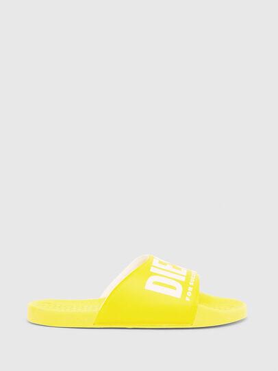 Diesel - FF 01 SLIPPER CH, Jaune - Footwear - Image 1