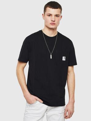 T-RISEN, Noir - T-Shirts