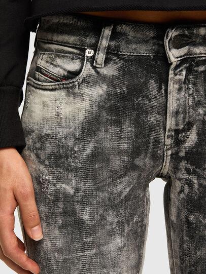 Diesel - D-Jevel 009FG, Gris Clair - Jeans - Image 5