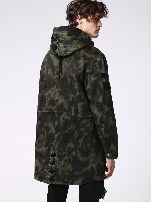 J-CRAZY-T, Vert Camouflage