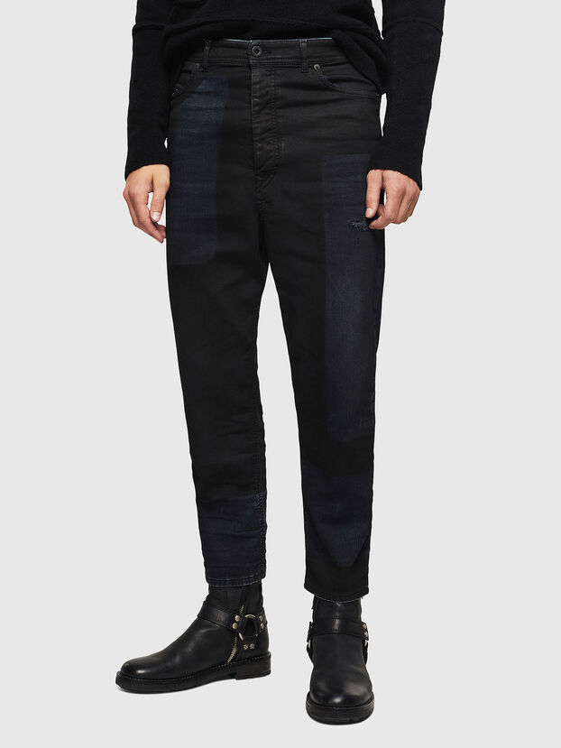 TYPE-2831-NE, Bleu Foncé - Jeans