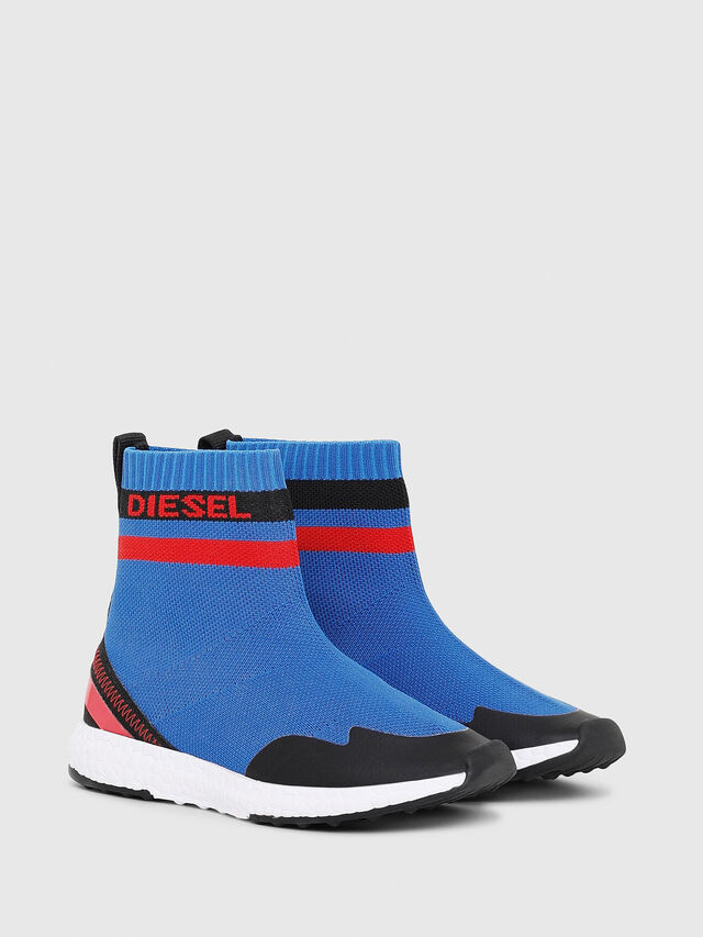 Diesel - SLIP ON 03 S-K SOCK, Bleu - Footwear - Image 2