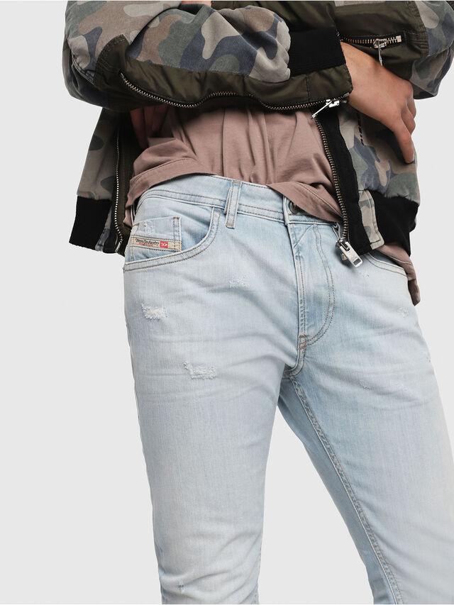 Diesel - Thommer 081AR, Bleu Clair - Jeans - Image 3