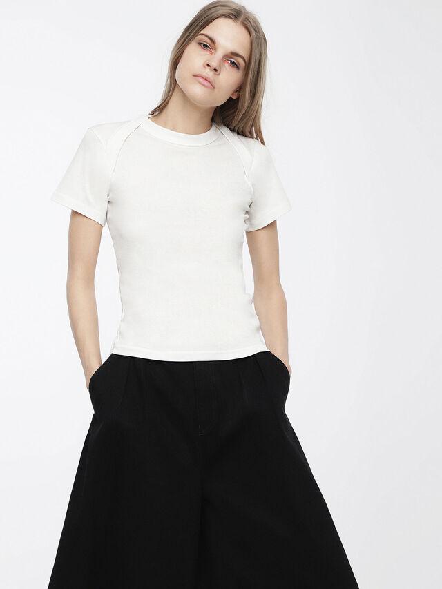 Diesel - T-SALI-A, Blanc - T-Shirts - Image 1