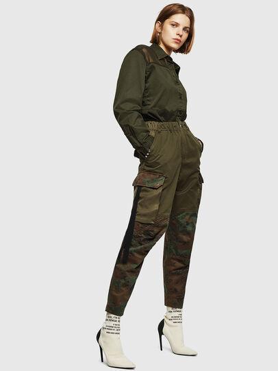 Diesel - P-THENA-A, Vert Camouflage - Pantalons - Image 6