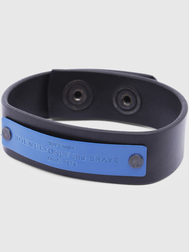 Diesel - A-BRESS, Noir/Bleu - Bijoux et Gadgets - Image 2