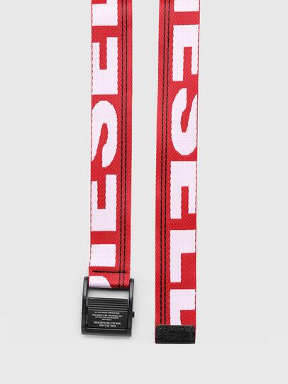 Diesel - B-MASER, Rouge Flamme - Ceintures - Image 3