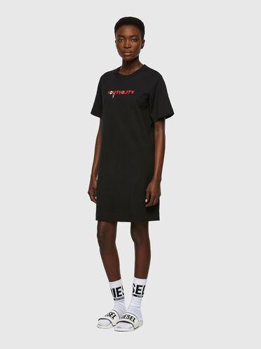Robe T-shirt avec imprimé Youthility