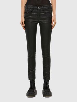 D-Ollies JoggJeans 069QJ, Noir/Gris foncé - Jeans
