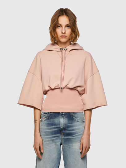 Diesel - F-BELTY, Rose Poudré - Pull Cotton - Image 1