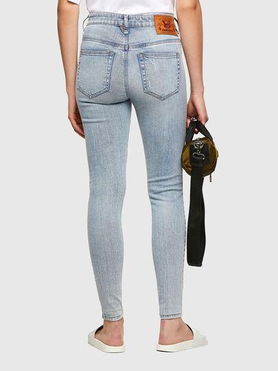 Diesel - Slandy High 009TG, Bleu Clair - Jeans - Image 2