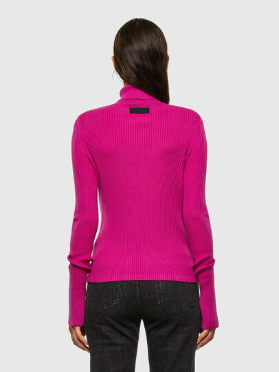 Diesel - M-KIMBERLY, Fuchsia - Pull Maille - Image 2
