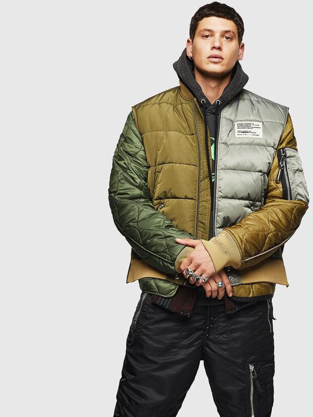 W-KOSLOV, Vert Militaire - Vestes d'hiver