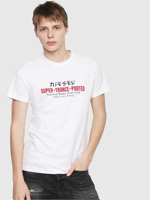 Diesel - T-DIEGO-Y1, Blanc - T-Shirts - Image 1