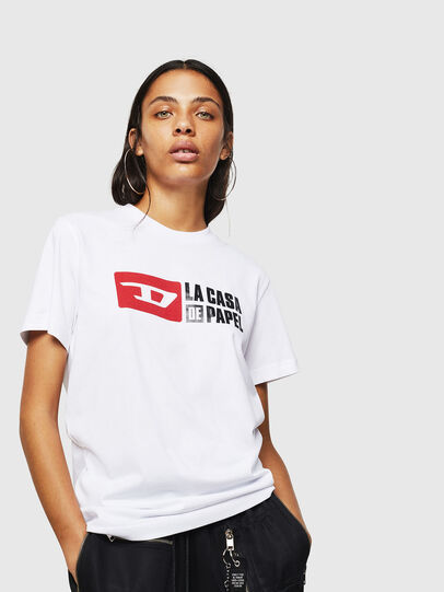 Diesel - LCP-T-DIEGO-CASA, Blanc - T-Shirts - Image 2
