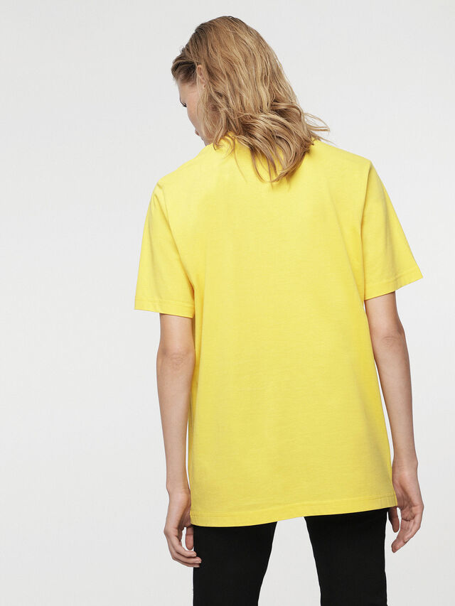 Diesel - HC-T-JUST-DIVISION-B, Jaune - T-Shirts - Image 6