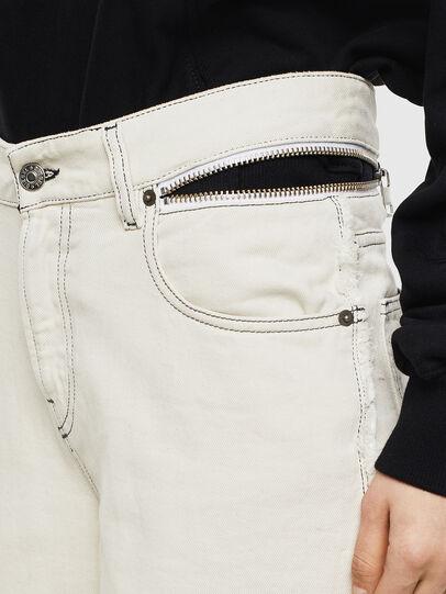Diesel - Widee 009BD, Blanc - Jeans - Image 5