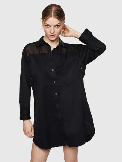 Diesel - D-FLOWY, Noir - Robes - Image 1