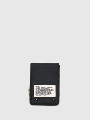 Sac à bandoulière label vert bicolore