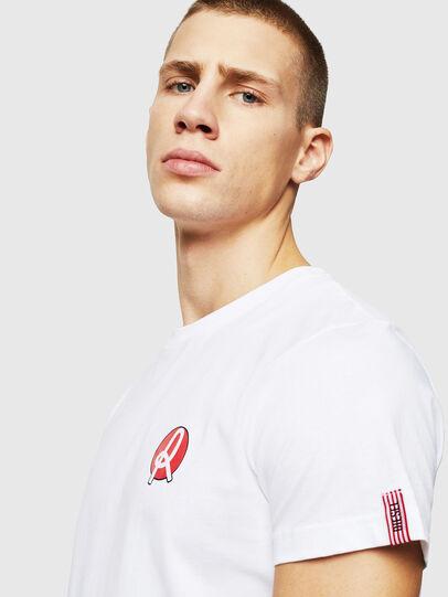 Diesel - LR-T-DIEGO-VIC, Blanc - T-Shirts - Image 3