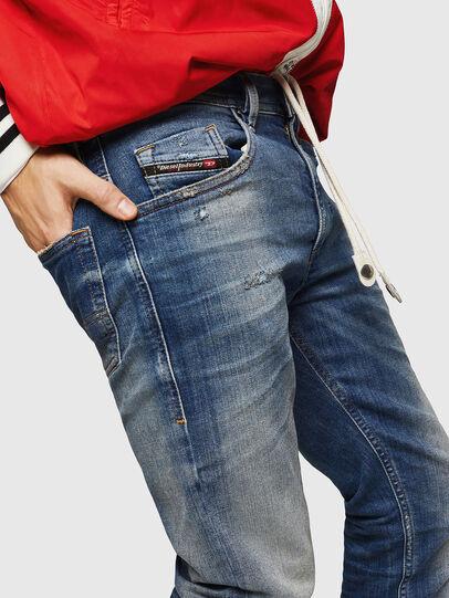 Diesel - Thommer JoggJeans 0870M, Bleu moyen - Jeans - Image 3