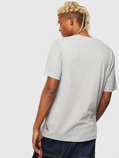 Diesel - CC-T-JUST-COLA, Gris - T-Shirts - Image 3