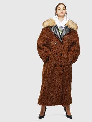 L-ASC, Marron - Vestes de cuir