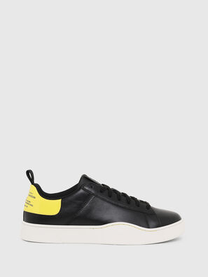 S-CLEVER LOW LACE, Noir/Jaune - Baskets