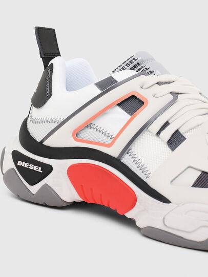 Diesel - S-KIPPER LOW TREK II, Blanc - Baskets - Image 4