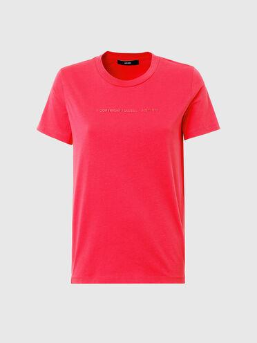 T-shirt à logo Copyright en coton