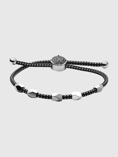 Diesel - DX1139, Noir/Gris argenté - Bracelets - Image 1